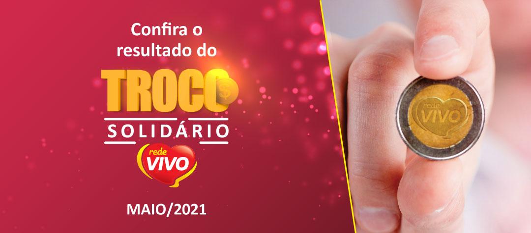 Troco Solidário arrecada mais de R$ 30 mil em maio