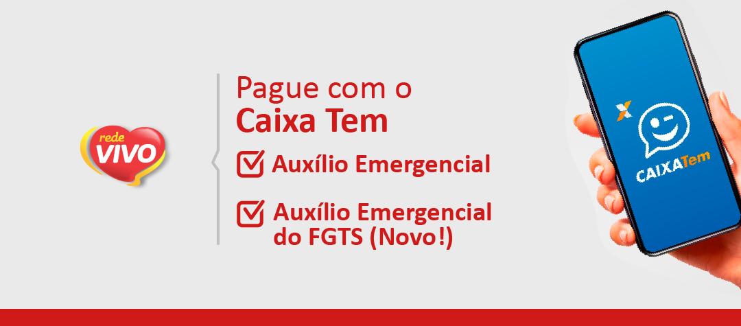 Utilize o Caixa Tem para pagar as compras com o Auxílio Emergencial ou Saque Emergencial do FGTS