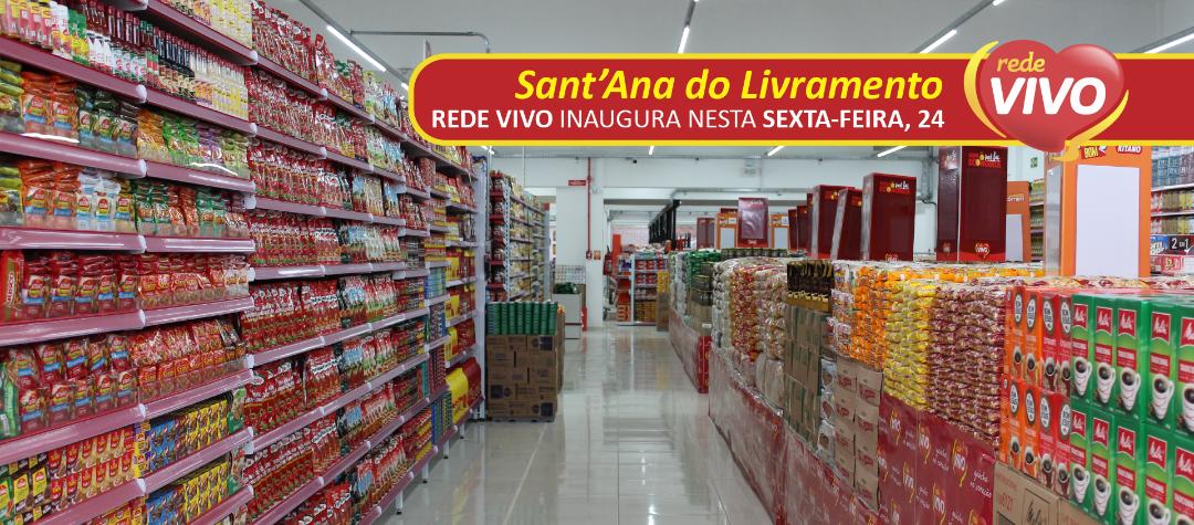 A Rede Vivo Supermercados está chegando a Livramento