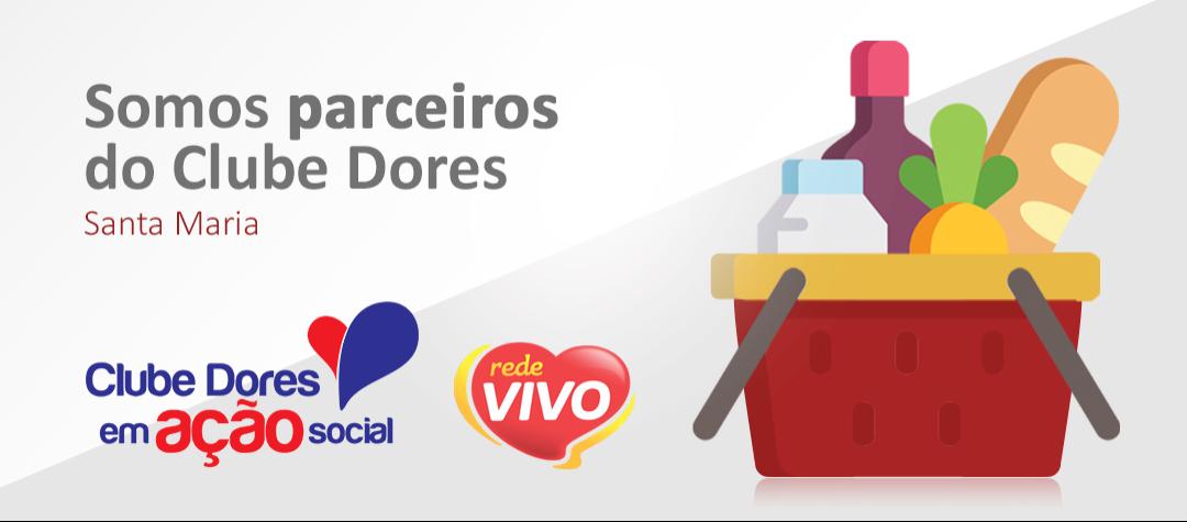 Rede Vivo Supermercados é parceira do Clube Recreativo Dores em ação social
